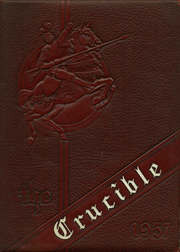 1957 Edition, Gadsden High School - Crucible Yearbook (Gadsden, AL)