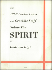 Page 5, 1960 Edition, Gadsden High School - Crucible Yearbook (Gadsden, AL) online yearbook collection