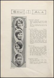 Page 10, 1925 Edition, Selma High School - Sel Ala Yearbook (Selma, AL) online yearbook collection