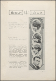 Page 11, 1925 Edition, Selma High School - Sel Ala Yearbook (Selma, AL) online yearbook collection