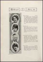 Page 16, 1925 Edition, Selma High School - Sel Ala Yearbook (Selma, AL) online yearbook collection