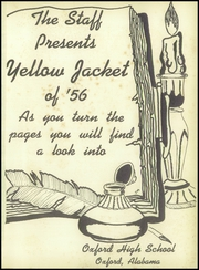 Page 5, 1956 Edition, Oxford High School - Yellow Jacket Yearbook (Oxford, AL) online yearbook collection