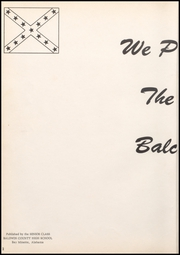 Page 6, 1957 Edition, Baldwin County High School - Balcoala Yearbook (Bay Minette, AL) online yearbook collection