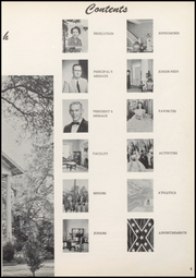 Page 9, 1957 Edition, Baldwin County High School - Balcoala Yearbook (Bay Minette, AL) online yearbook collection