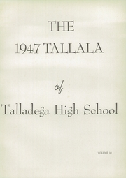 Page 7, 1947 Edition, Talladega High School - Tallala Yearbook (Talladega, AL) online yearbook collection