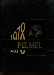 Page 1, 1978 Edition, Pell City High School - Pelmel Yearbook (Pell City, AL) online yearbook collection