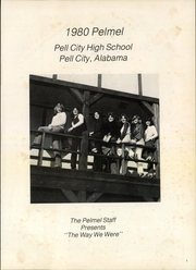 Page 5, 1980 Edition, Pell City High School - Pelmel Yearbook (Pell City, AL) online yearbook collection