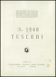 Page 5, 1948 Edition, Tuscaloosa County High School - Tuscohi Yearbook (Northport, AL) online yearbook collection