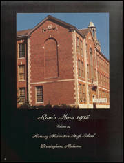 Page 8, 1978 Edition, Ramsay High School - Rams Horn Yearbook (Birmingham, AL) online yearbook collection