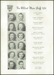 Page 14, 1950 Edition, Tarrant High School - Wildcat Yearbook (Tarrant, AL) online yearbook collection