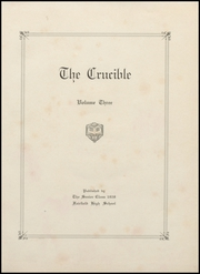 Page 5, 1928 Edition, Fairfield High School - Crucible Yearbook (Fairfield, AL) online yearbook collection