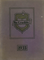 Fairfield High School - Crucible Yearbook (Fairfield, AL) online yearbook collection, 1933 Edition, Page 1