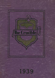 Fairfield High School - Crucible Yearbook (Fairfield, AL) online yearbook collection, 1939 Edition, Page 1