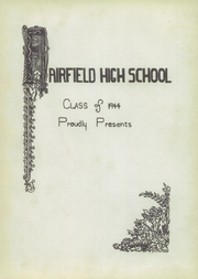 Page 7, 1944 Edition, Fairfield High School - Crucible Yearbook (Fairfield, AL) online yearbook collection
