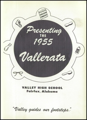 Page 5, 1955 Edition, Valley High School - Vallerata Yearbook (Valley, AL) online yearbook collection