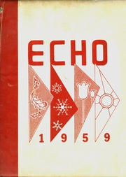 1959 Edition, Russell High School - Echo Yearbook (Alexander City, AL)