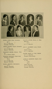 Page 17, 1929 Edition, Maryville High School - Maryvillian Yearbook (Maryville, MO) online yearbook collection