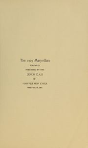 Page 5, 1929 Edition, Maryville High School - Maryvillian Yearbook (Maryville, MO) online yearbook collection
