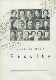 Page 10, 1937 Edition, Deshler High School - Tigers Roar Yearbook (Tuscumbia, AL) online yearbook collection