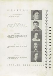 Page 17, 1937 Edition, Deshler High School - Tigers Roar Yearbook (Tuscumbia, AL) online yearbook collection