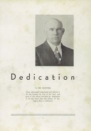Page 7, 1937 Edition, Deshler High School - Tigers Roar Yearbook (Tuscumbia, AL) online yearbook collection