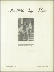Page 5, 1950 Edition, Deshler High School - Tigers Roar Yearbook (Tuscumbia, AL) online yearbook collection