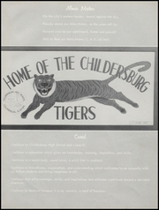 Page 10, 1959 Edition, Childersburg High School - Treasure Chest Yearbook (Childersburg, AL) online yearbook collection