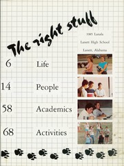 Page 5, 1985 Edition, Lanett High School - Lanala Yearbook (Lanett, AL) online yearbook collection