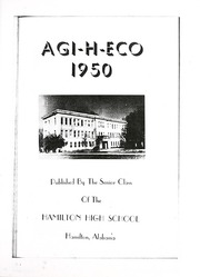 Page 9, 1950 Edition, Hamilton High School - Agi H Eco Yearbook (Hamilton, AL) online yearbook collection
