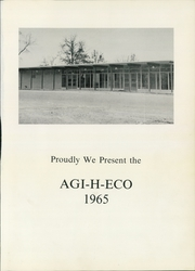 Page 5, 1965 Edition, Hamilton High School - Agi H Eco Yearbook (Hamilton, AL) online yearbook collection