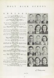 Page 13, 1939 Edition, Holt High School - Souvenir Yearbook (Holt, AL) online yearbook collection