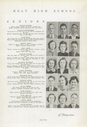 Page 15, 1939 Edition, Holt High School - Souvenir Yearbook (Holt, AL) online yearbook collection