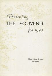 Page 5, 1939 Edition, Holt High School - Souvenir Yearbook (Holt, AL) online yearbook collection