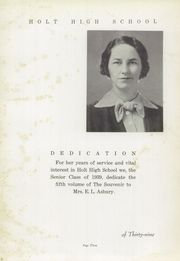 Page 7, 1939 Edition, Holt High School - Souvenir Yearbook (Holt, AL) online yearbook collection