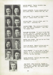 Page 14, 1943 Edition, New Hope High School - Indian Yearbook (New Hope, AL) online yearbook collection