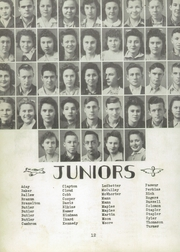 Page 16, 1943 Edition, New Hope High School - Indian Yearbook (New Hope, AL) online yearbook collection