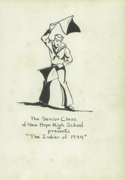 Page 5, 1944 Edition, New Hope High School - Indian Yearbook (New Hope, AL) online yearbook collection