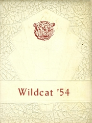 Central High School - Wildcat Yearbook (Florence, AL) online yearbook collection, 1954 Edition, Page 1