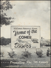 Page 5, 1959 Edition, Comer Memorial High School - Comer Yearbook (Sylacauga, AL) online yearbook collection