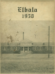 Page 1, 1958 Edition, Elba High School - Elbala Yearbook (Elba, AL) online yearbook collection