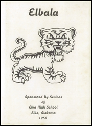 Page 7, 1958 Edition, Elba High School - Elbala Yearbook (Elba, AL) online yearbook collection