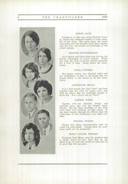 Page 12, 1930 Edition, Sumter County High School - Cat A Wah Yearbook (York, AL) online yearbook collection