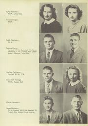 Page 15, 1949 Edition, Aliceville High School - Yellow Jacket Yearbook (Aliceville, AL) online yearbook collection