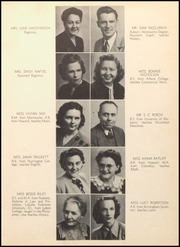 Page 11, 1948 Edition, Bessemer High School - Kallista Yearbook (Bessemer, AL) online yearbook collection