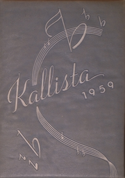 1959 Edition, Bessemer High School - Kallista Yearbook (Bessemer, AL)