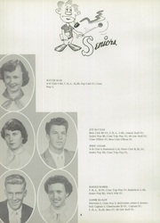 Page 12, 1957 Edition, Slocomb High School - Sigma Eta Yearbook (Slocomb, AL) online yearbook collection