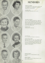 Page 14, 1957 Edition, Slocomb High School - Sigma Eta Yearbook (Slocomb, AL) online yearbook collection