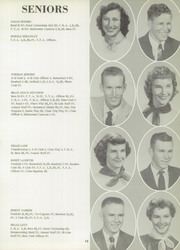 Page 17, 1957 Edition, Slocomb High School - Sigma Eta Yearbook (Slocomb, AL) online yearbook collection