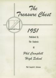 Page 7, 1951 Edition, Phil Campbell High School - Treasure Chest Yearbook (Phil Campbell, AL) online yearbook collection