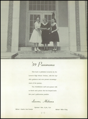 Page 5, 1959 Edition, Luverne High School - Panorama Yearbook (Luverne, AL) online yearbook collection